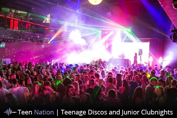 Parent Information about Teen Nation Events and Teenage Discos in Cork